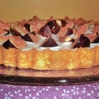 Inspiración otoñal: Tarta ligera con yogur griego e higos al Cointreau